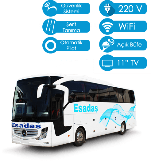 Esadaş Turizm & Otelcilik Online Otobüs Bileti Satış Rezervasyon